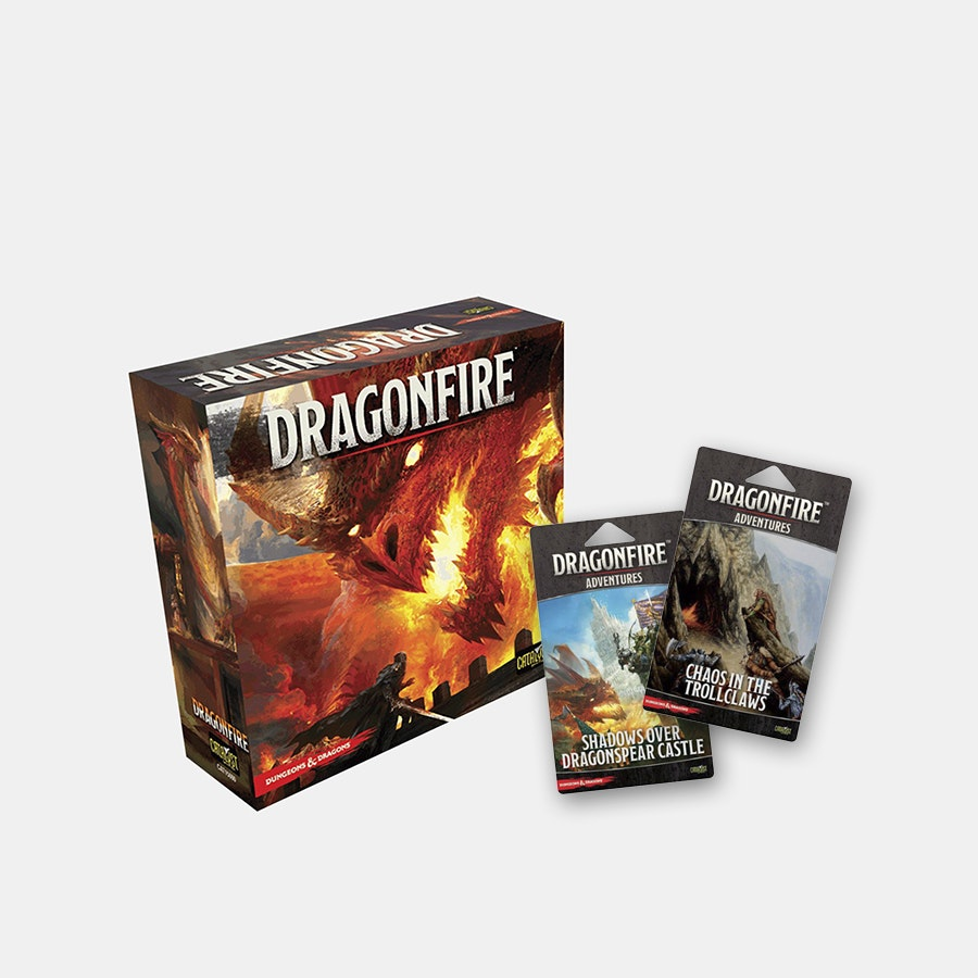Dragonfire Deck-Building Board Game Bundle 2