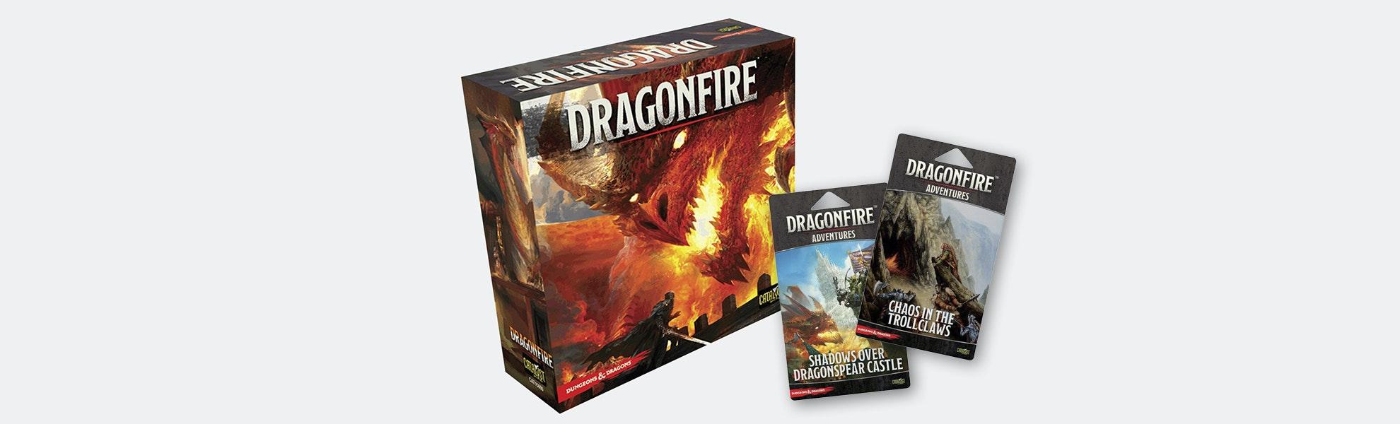 Dragonfire Deck-Building Board Game Bundle 2