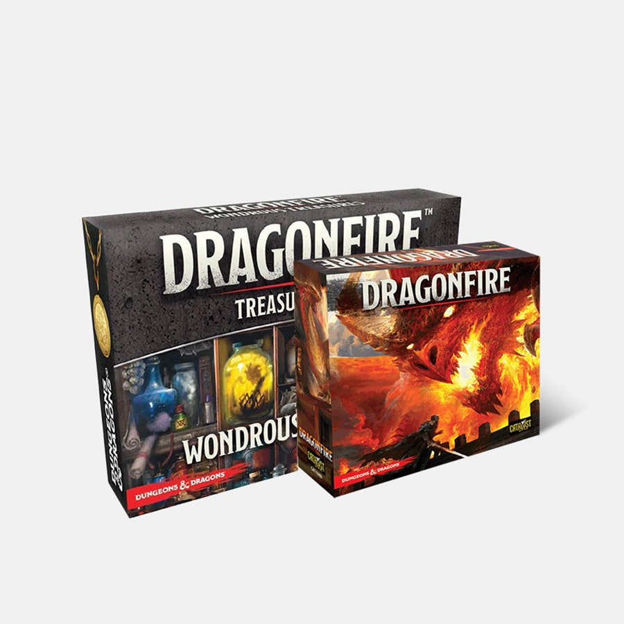 Dragonfire Deck-Building Board Game Bundle