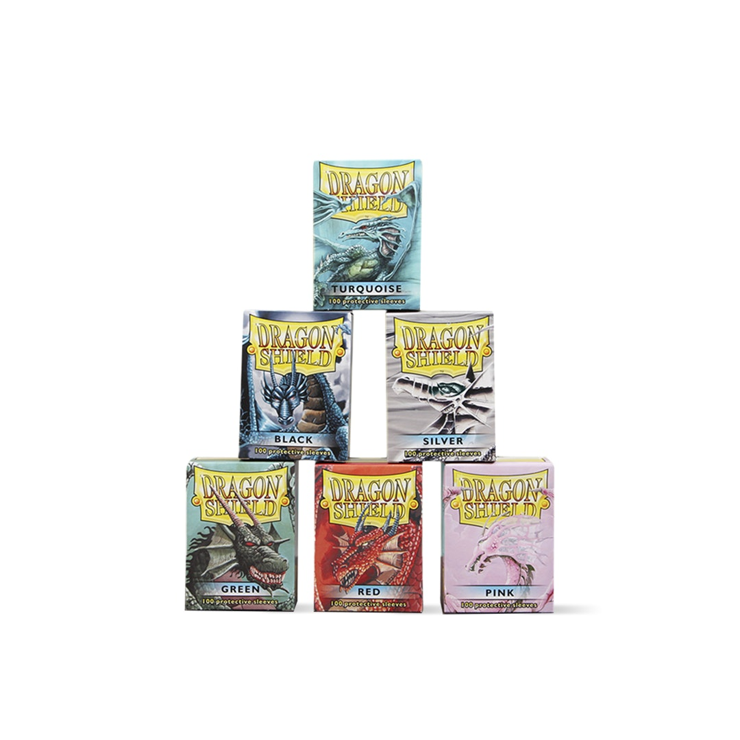 Dragon Shield Gloss & Matte Sleeves (6-Pack)