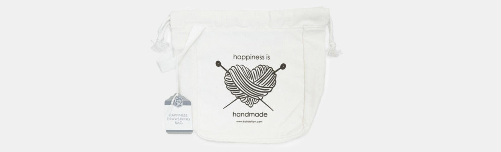 Drawstring Yarn Bag