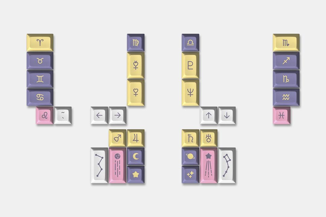 Drop DSA Astrolokeys Keycaps by sailorhg & cassidoo