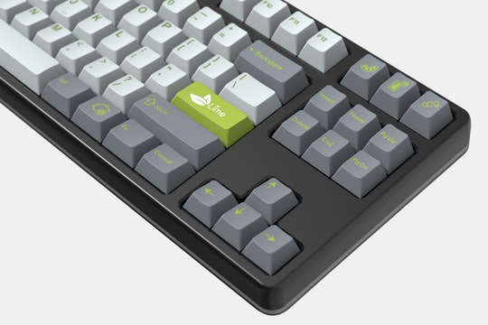 Drop GMK Lime Custom Keycap Set