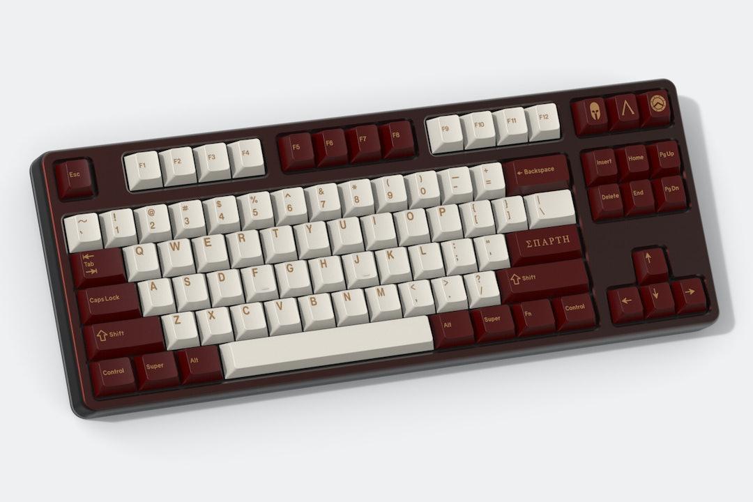 Drop GMK Sparta Custom Keycap Set