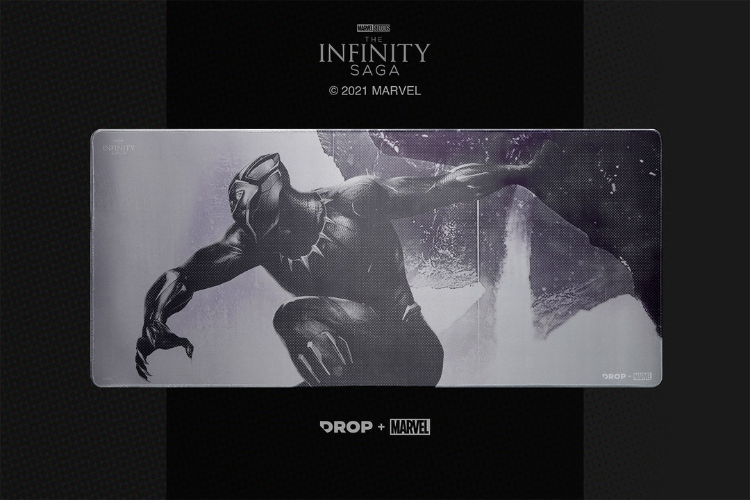 Drop + Marvel Black Panther Keycap Set
