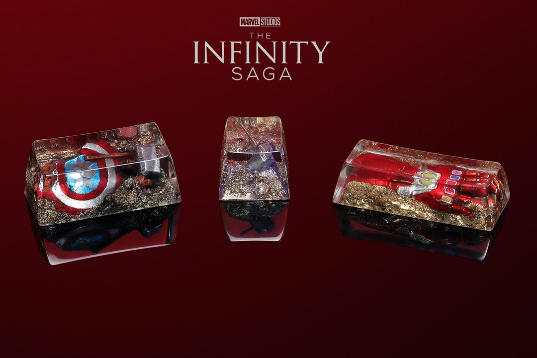 Drop + Marvel: Infinity Saga Artisan Keycap