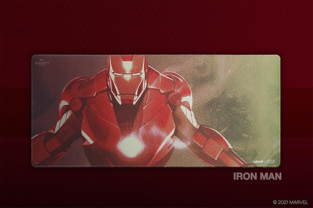 Drop + Marvel Iron Man Keycap Set