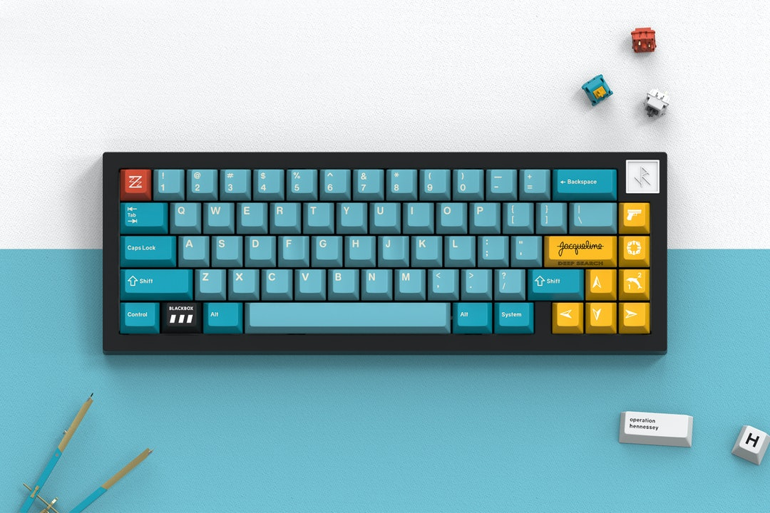 Drop + MiTo GMK Belafonte Custom Keycap Set