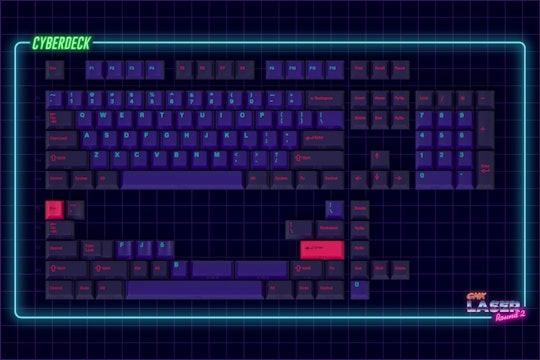 Drop + MiTo GMK Laser Custom Keycap Set