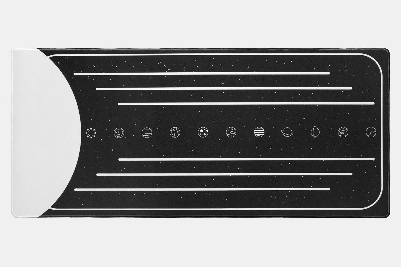 Drop + MiTo Godspeed Desk Mat - Monochrome