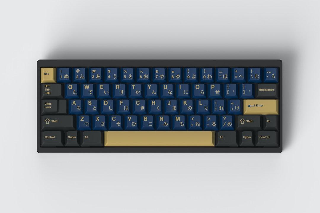 Drop + RedSuns GMK Blue Samurai Custom Keycap Set