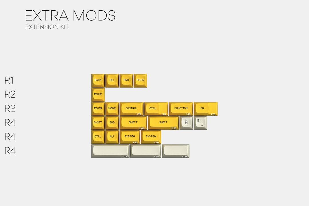 Drop + Zambumon MT3 Serika Custom Keycap Set