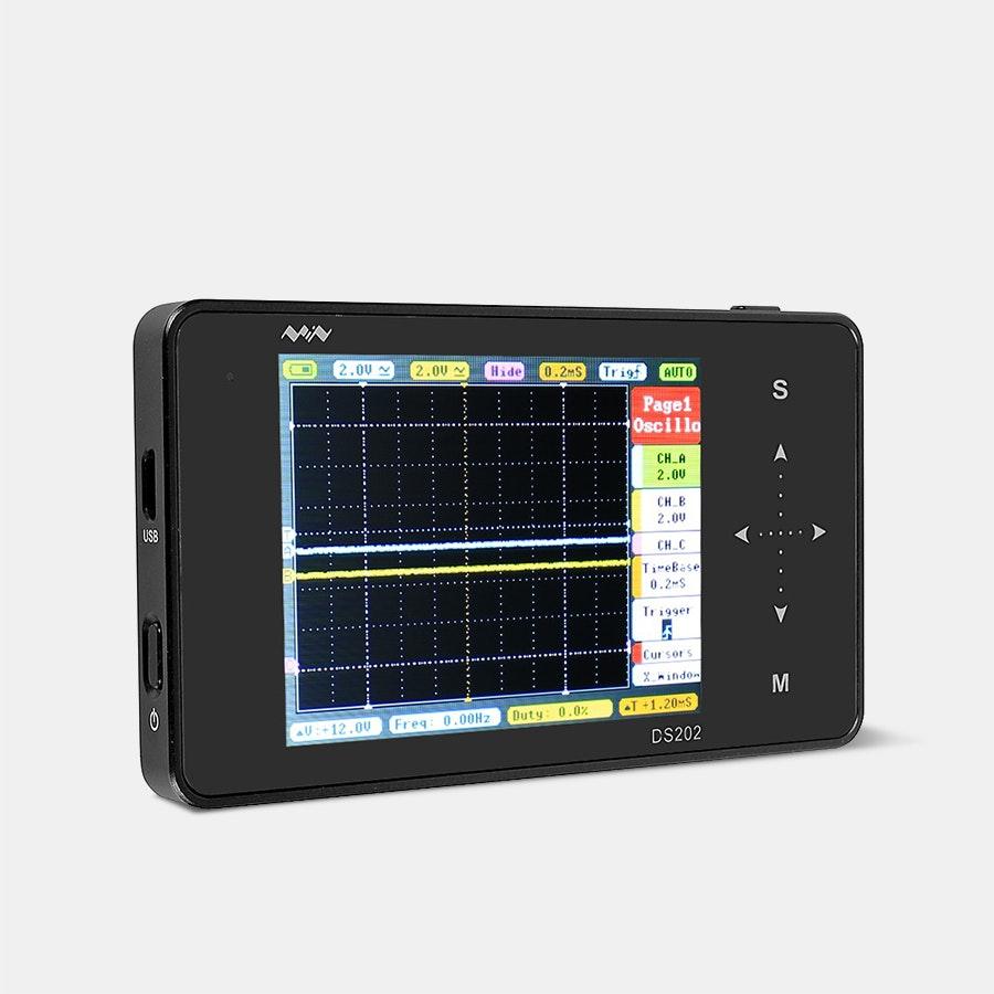 DS202 Nano Arm Touch Digital Portable Oscilloscope