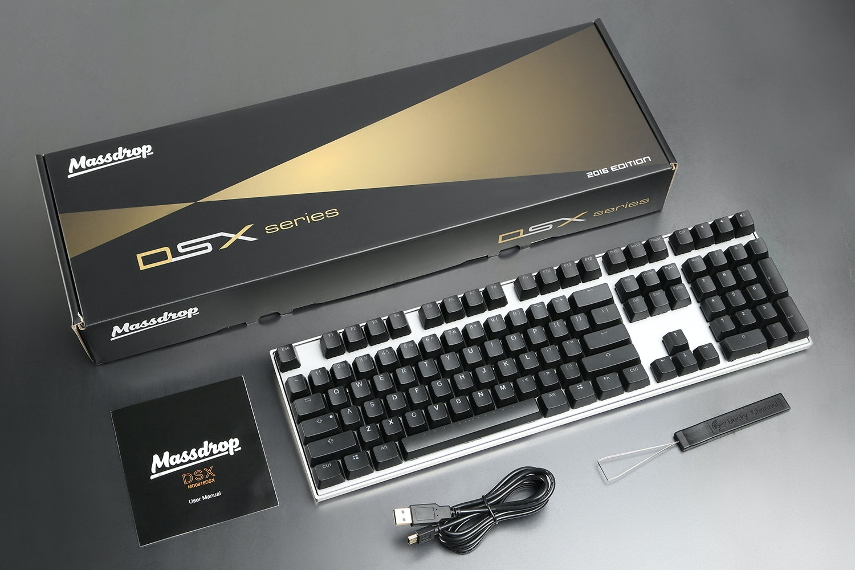DSX Backlit Keyboard - Massdrop Exclusive