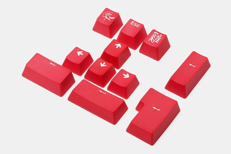 Ducky 11-Key PBT Doubleshot Color Keycap Set