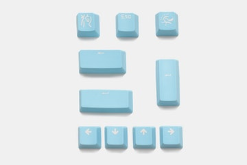 Ducky Bright Lilac PBT Keycap Set