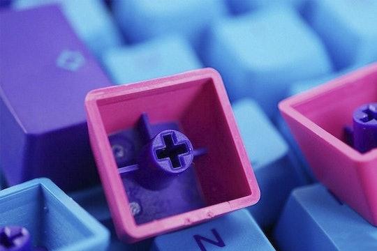 Ducky Joker PBT Doubleshot Keycaps + Keychain Set