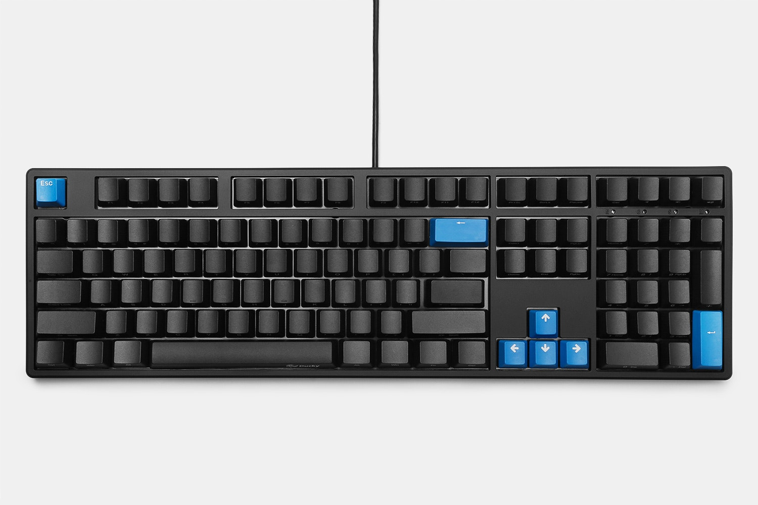 Ducky ONE Full-Size Mechanical Keyboard + Keycaps