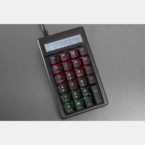 Ducky Pocket RGB Mechanical Numpad + Keychain
