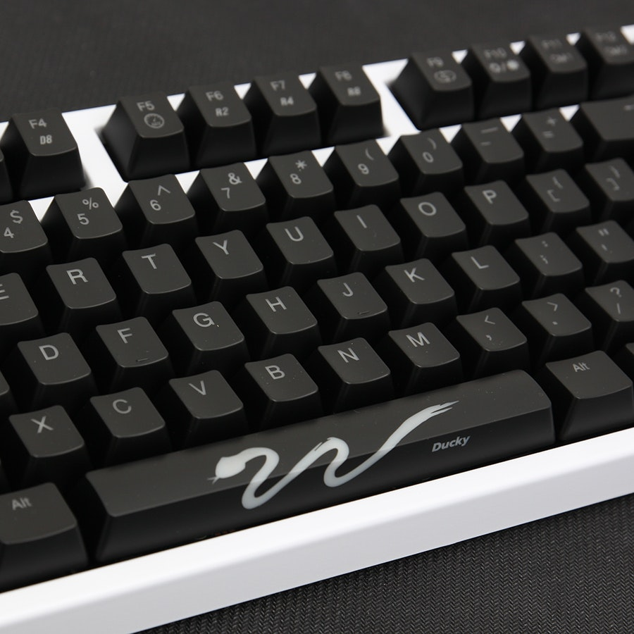 Ducky Shine 3 White Edition