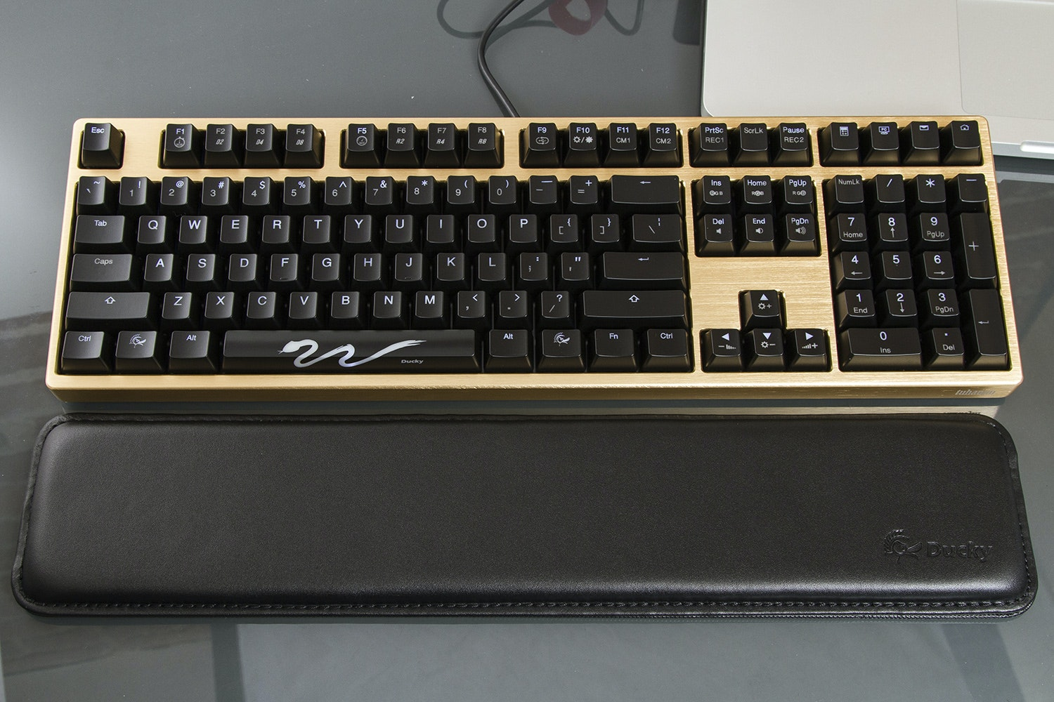Ducky Leather Wrist Rest