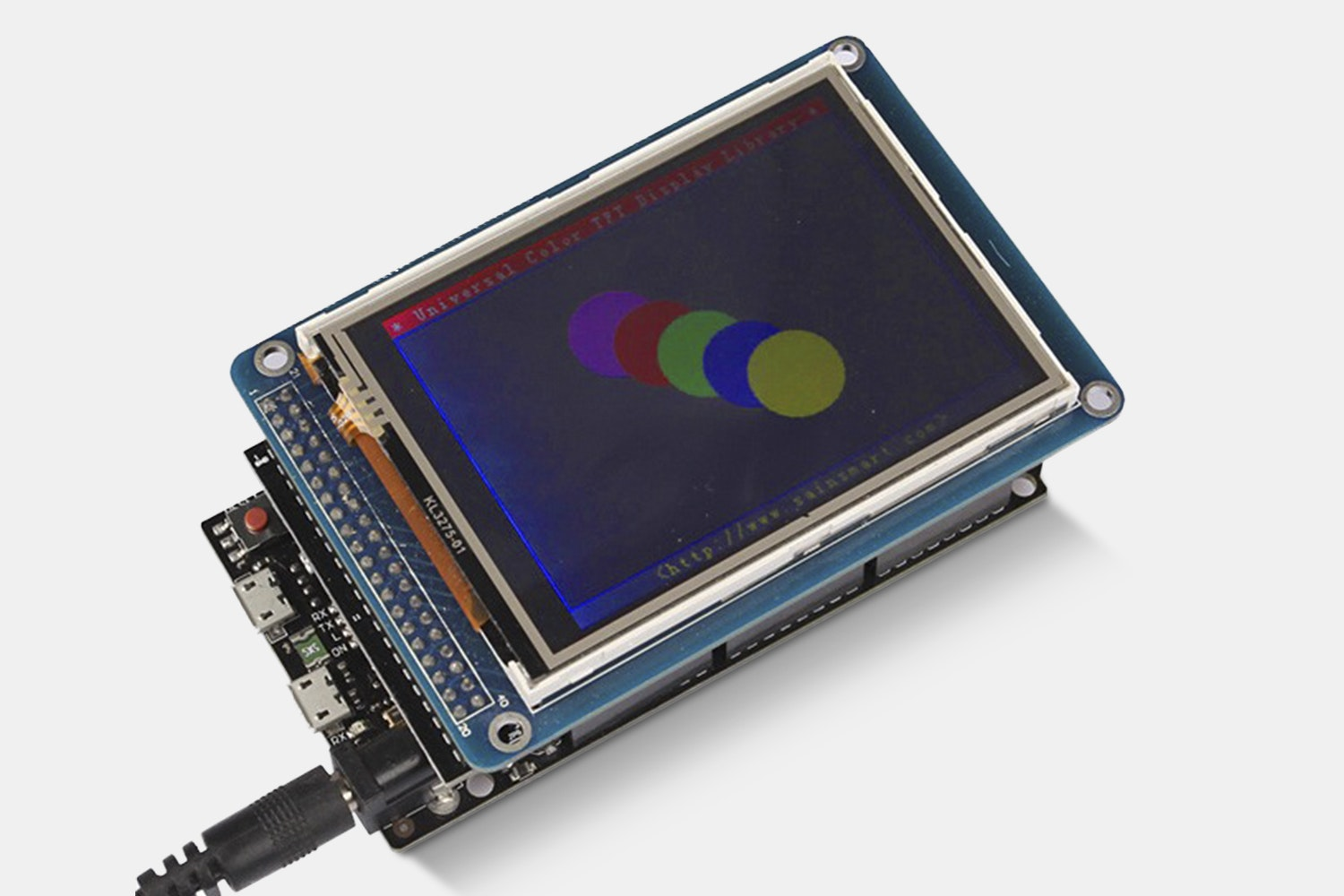 """Due Board + 3.2"""" TFT Touch LCD + Shield Kit"""