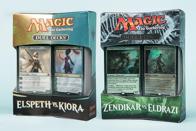 Duel Decks: Zendikar vs Eldrazi + Elspeth vs Kiora