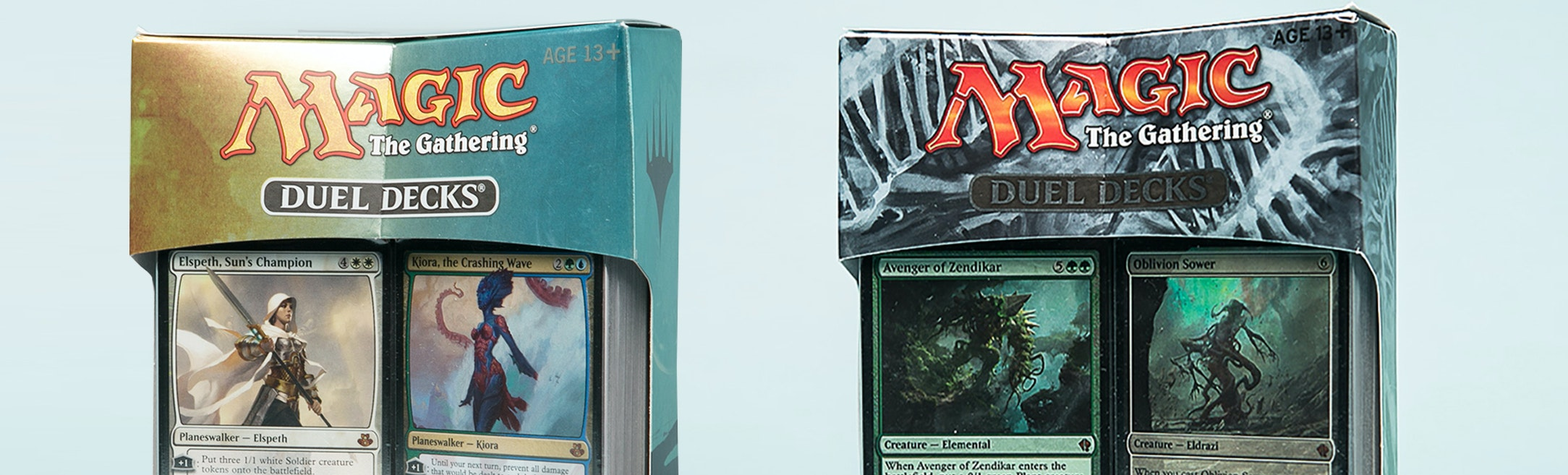 Duel Decks: Zendikar vs Eldrazi + Elspeth vs Kiora