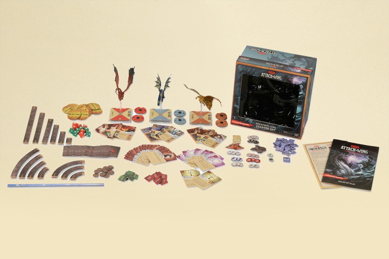 D&D: Attack Wing Starter Set + Dragons Bundle