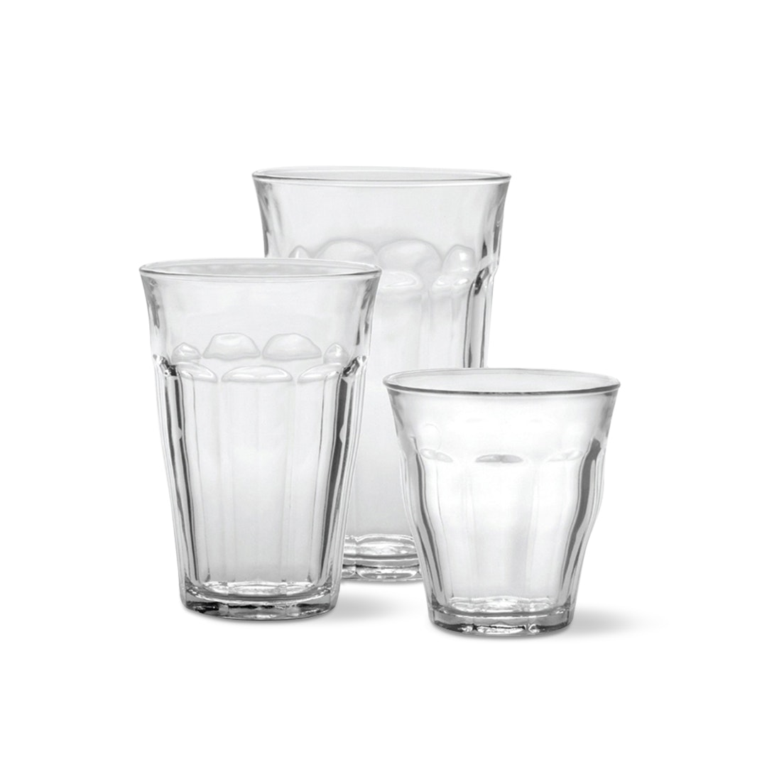 Duralex Picardie 18-Piece Glass Set