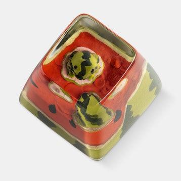 Dwarf Factory Anura Frog Resin Artisan Keycap