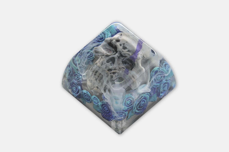 Dwarf Factory Demonic Rosa Artisan Keycap