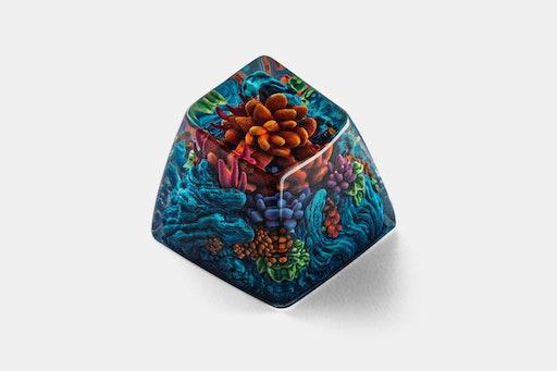 Dwarf Factory Gaea's Crown Artisan Keycap