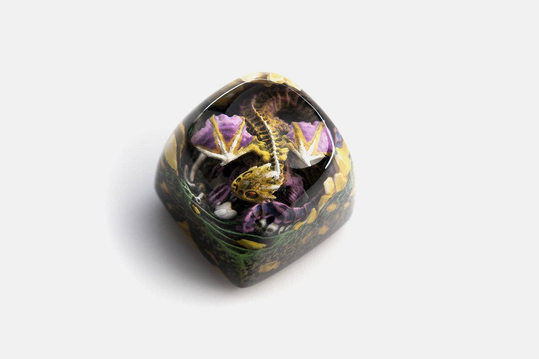 Dwarf Factory Gnarly Drakon Artisan Keycap - Spyro - DOM