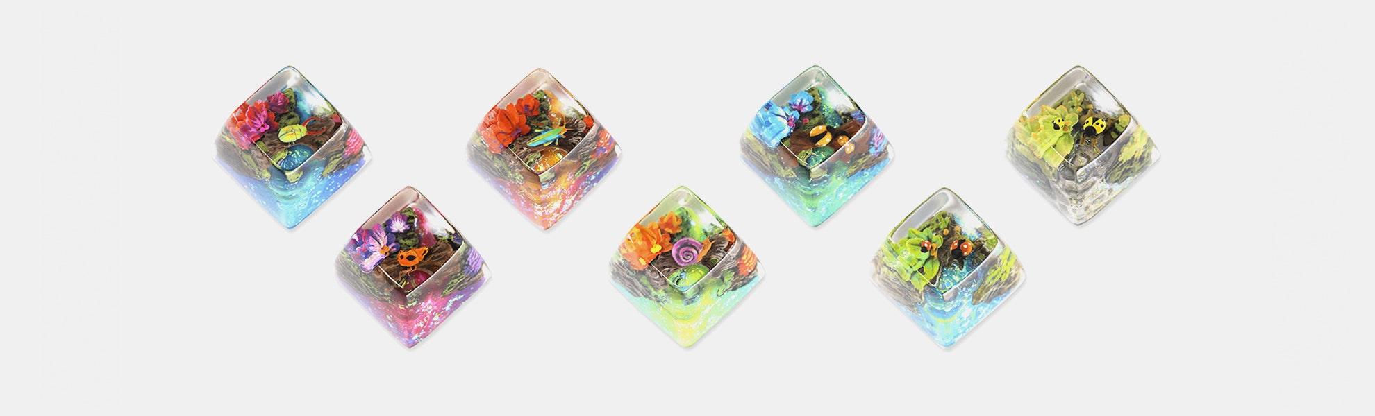 Dwarf Factory Miracle Island Artisan Keycap