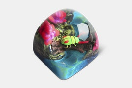 Miracle Island Artisan Dom Keycap - Felix - Lucky Springs