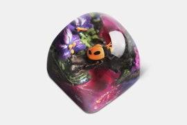 Miracle Island Artisan Dom Keycap - Crismish - Secret Garden