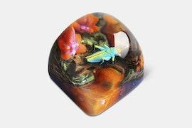 Miracle Island Artisan Dom Keycap - Kefle - Twinkle Dust
