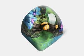 Miracle Island Artisan Dom Keycap - Konoe - Mystery Lake