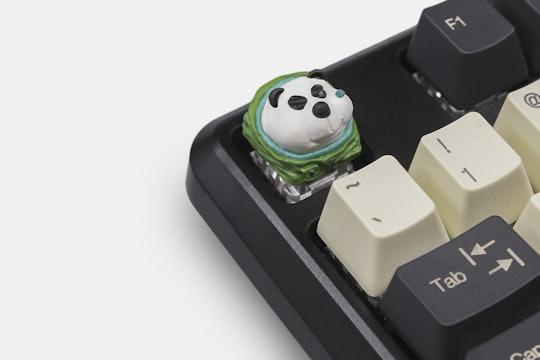 Dwarf Factory Snoob Bear Artisan Keycap