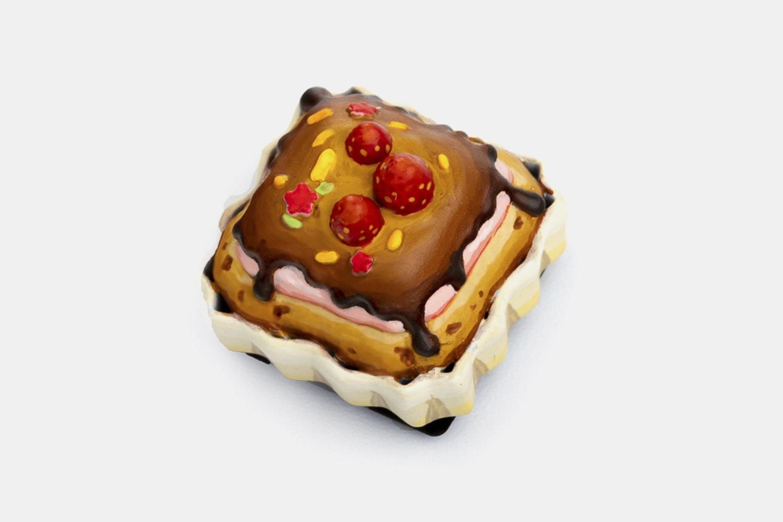 Dwarf Factory Foodie Artisan Keycap - Sweet Cupcake (No Cover)
