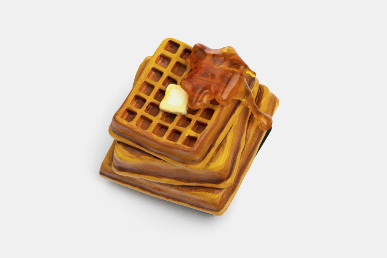 Dwarf Factory Foodie Artisan Keycap - Fluffy Waffle (No Cover)