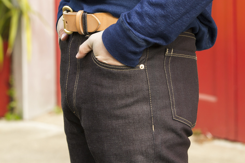 Dyer & Jenkins 002 Raw Denim Jeans