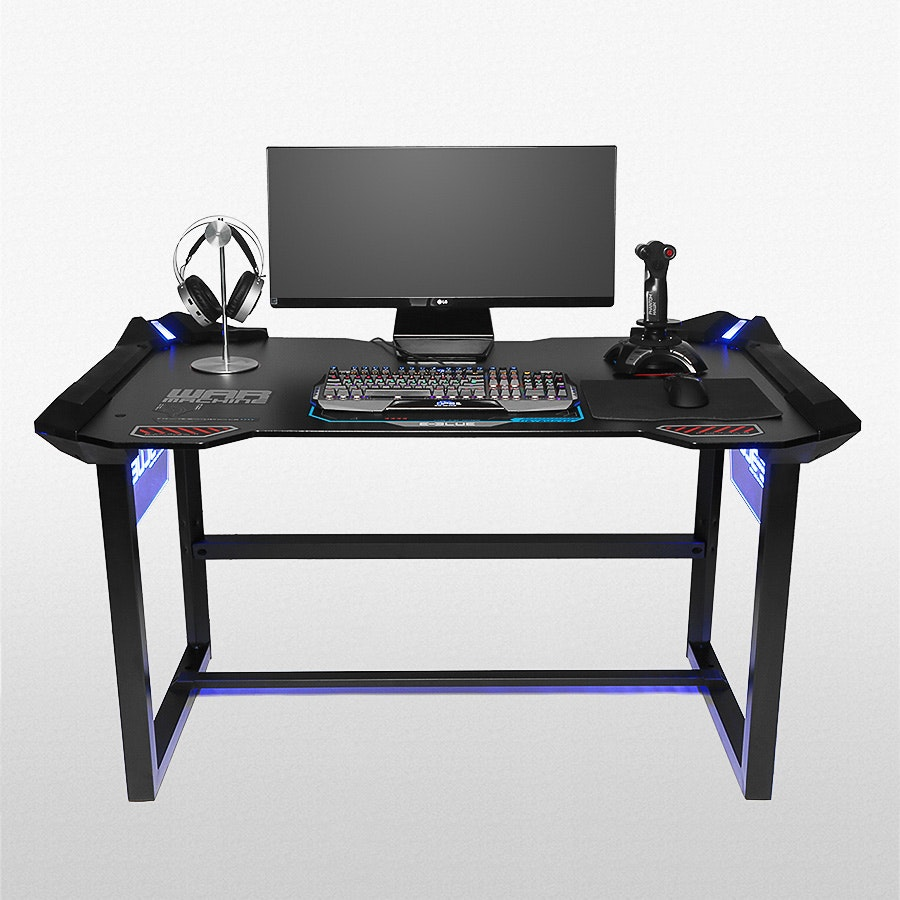 E-Blue LED Gaming Desk