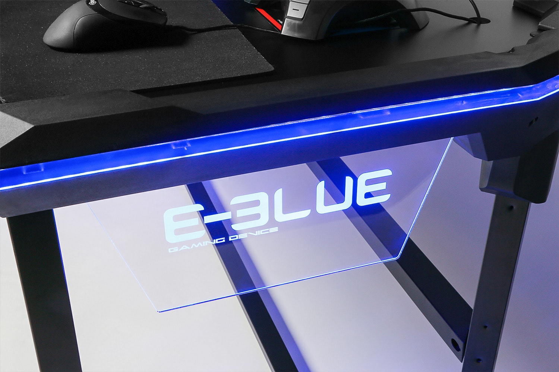 E-Blue LED Gaming Desk