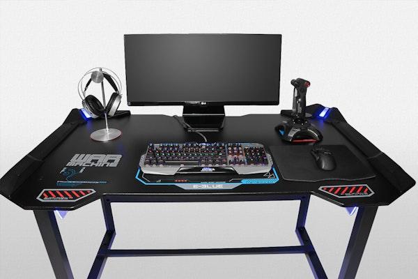 E Blue Led Gaming Desk Price Amp Reviews Massdrop