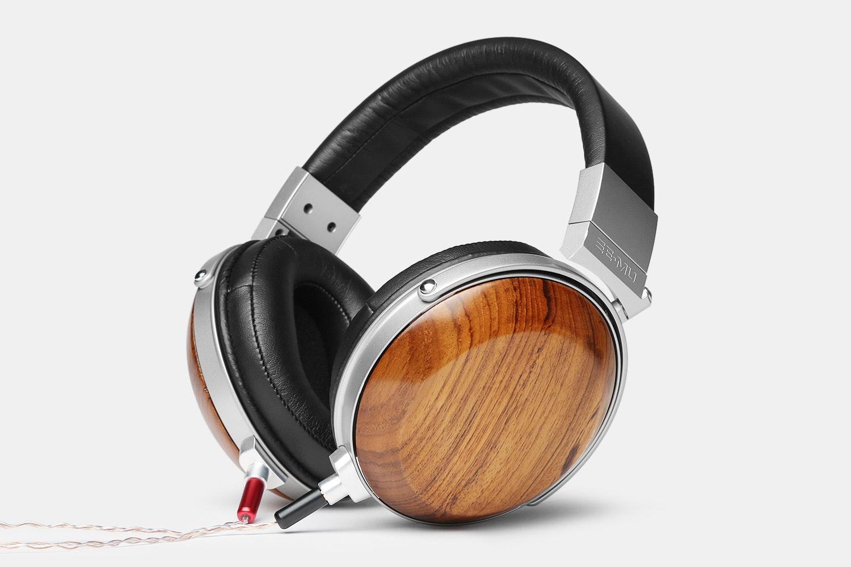 E-MU Wood Headphones w/ Removable Cable   Price & Reviews   Massdrop