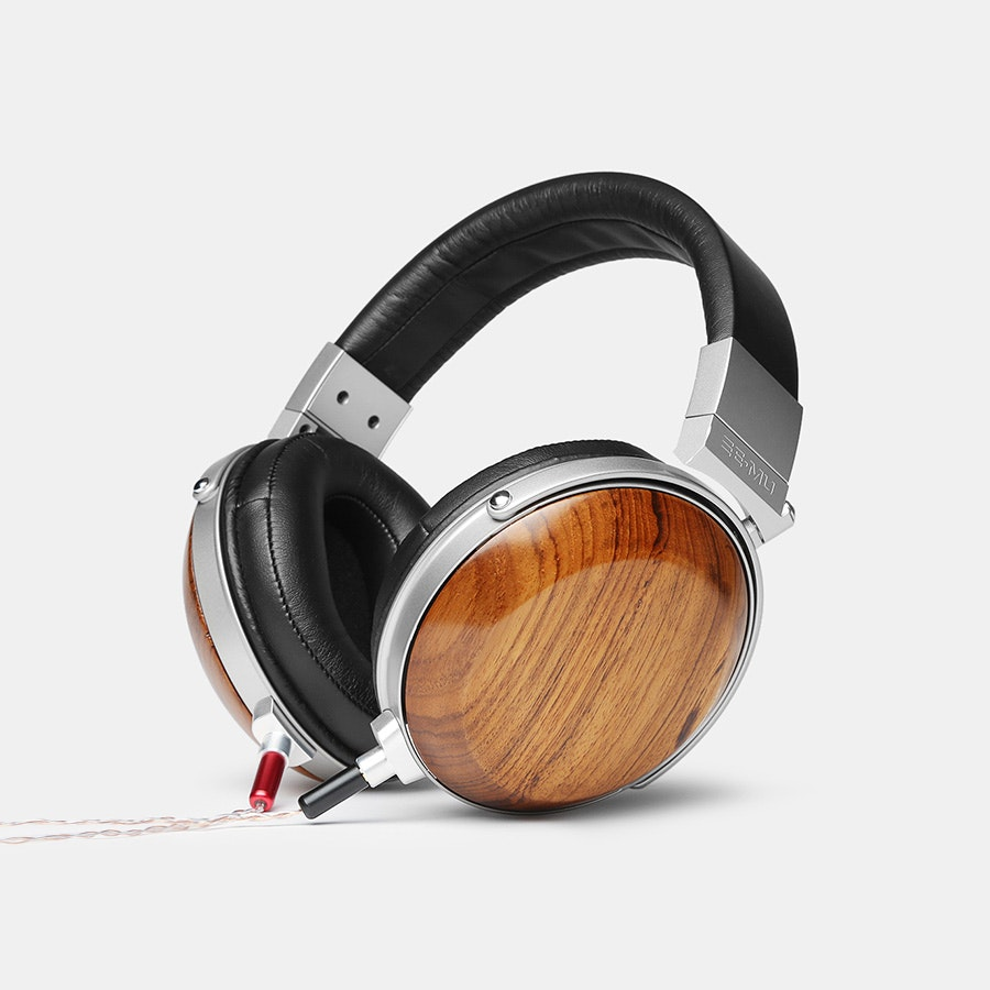 E-MU Teak Headphones w/ Removable Cable