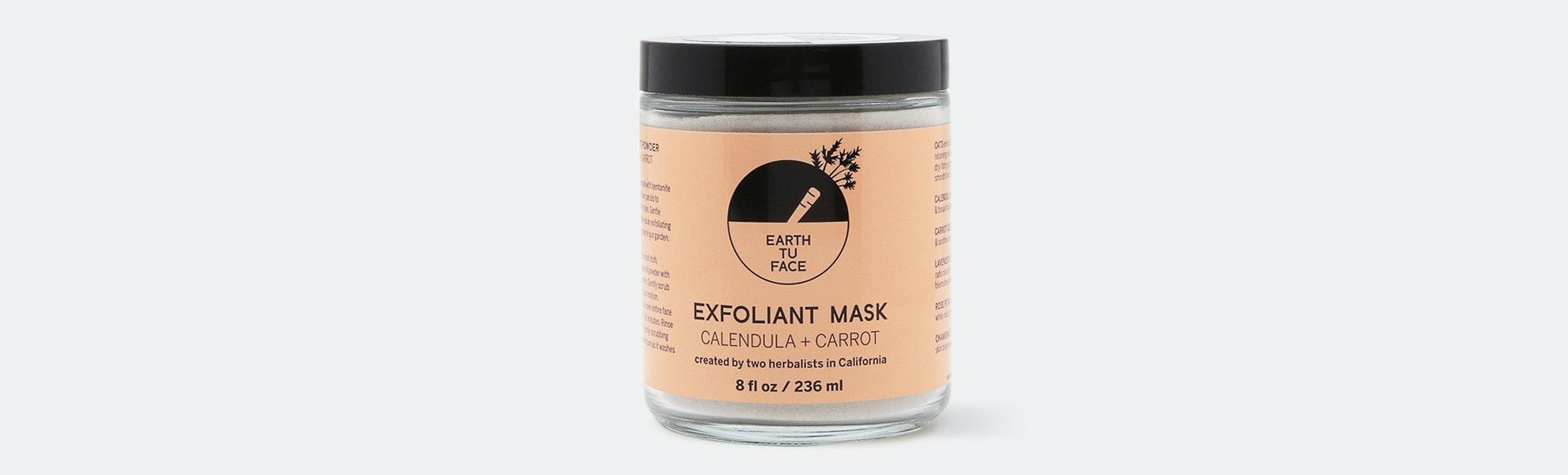 Earth tu Face Exfoliating Mask