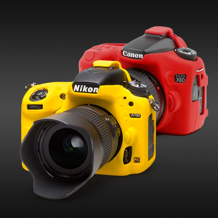 easyCover Camera Cover and Lens Rim Kit Bundle
